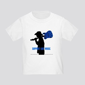 BLUES MAN - SUPPORT LIVE MUSIC Toddler T-Shirt